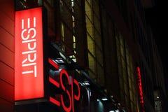 Logo de mode d'Esprit Photo stock