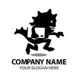 Logo de monstre de la livraison Images libres de droits