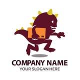 Logo de monstre de la livraison Image stock