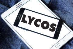Logo de moteur de recherche de Web de Lycos Photos stock