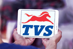 Logo de motos de TV Photographie stock