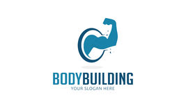 Logo de musculation Image libre de droits