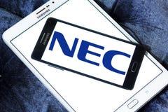 Logo de NEC Corporation Image stock