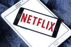 Logo de Netflix Photographie stock