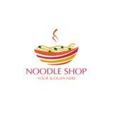 Logo de nouille Image stock