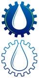 Logo de pétrole illustration stock