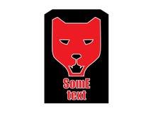 Logo de panthère noire Photographie stock