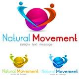 Logo de personnes Image stock
