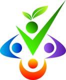 Logo de personnes Photos libres de droits