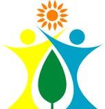 Logo de personnes de santé Image libre de droits