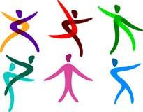 Logo de peuples illustration de vecteur