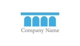 Logo de pont en aqueduc Image libre de droits
