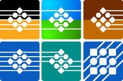 Logo de ramassage illustration libre de droits