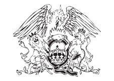 Logo de reine illustration stock