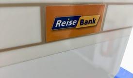 Logo de ReiseBank photo stock