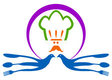 Logo de restaurant Images stock