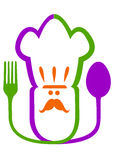 Logo de restaurant Photo libre de droits
