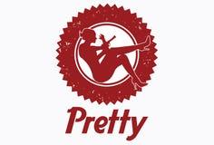 Logo de restaurant de barre illustration de vecteur
