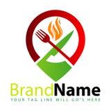 Logo de restaurant de nourriture illustration de vecteur