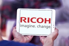 Logo de Ricoh Company image stock