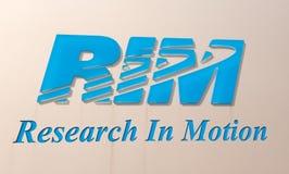 Logo de RIM Images stock