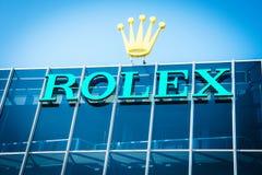 Logo de Rolex images libres de droits