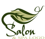 Logo de salon Photo stock