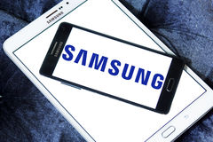 Logo de Samsung Images stock