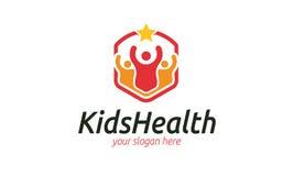 Logo de santé d'enfants Images libres de droits