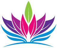 Logo de santé de feuille Photos libres de droits