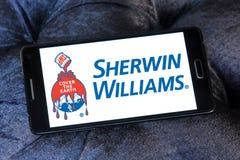 Logo de Sherwin Williams Company illustration stock