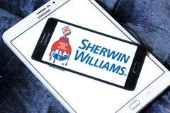 Logo de Sherwin Williams Company illustration de vecteur