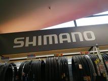 Logo de Shimano Image stock