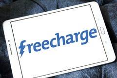 Logo de site Web de commerce électronique de FreeCharge Images libres de droits