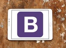 Logo de site Web d'amorce Images stock