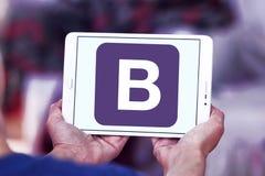 Logo de site Web d'amorce Photos libres de droits