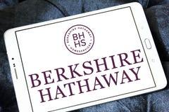 Logo de société de Berkshire Hathaway images stock