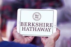 Logo de société de Berkshire Hathaway images libres de droits