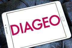 Logo de société de boissons alcoolisées de Diageo Photos stock