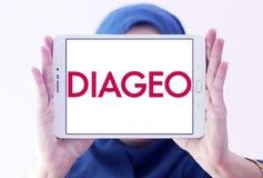 Logo de société de boissons alcoolisées de Diageo Image libre de droits