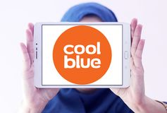 Logo de société de commerce électronique de Coolblue Image stock