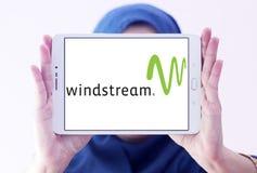 Logo de société de communications de Windstream Photos stock