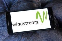 Logo de société de communications de Windstream Photographie stock libre de droits