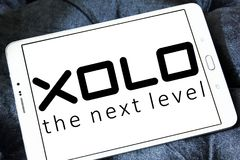 Logo de société d'électronique de XOLO Photos stock