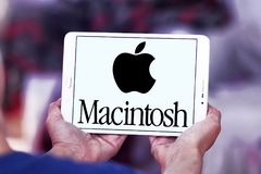 Logo de société d'Apple Macintosh Photo libre de droits