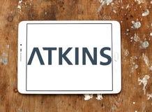 Logo de société d'Atkins photographie stock