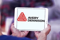 Logo de société d'Avery Dennison Image libre de droits