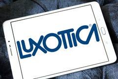 Logo de société d'eyewear de Luxottica Photo libre de droits