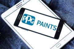 Logo de société d'industries de PPG Image stock