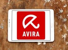 Logo de société d'opérations d'Avira Images stock